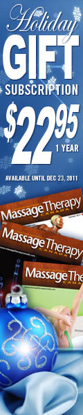 Massage Christmas Gift Subscription