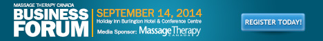 Massage Therapy Canada Business Forum