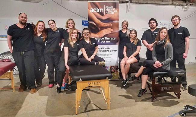 Giving back: Volunteering massage therapy services