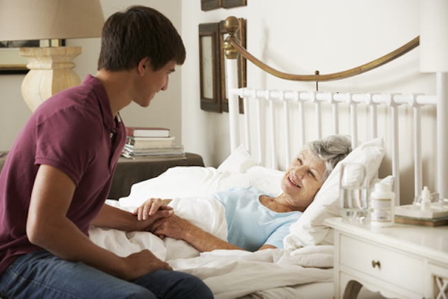 Caring for the dying - www massagetherapycanada com