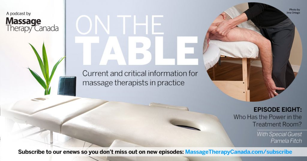 PODCAST Episode 8: Who has the power in the treatment room?